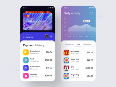 Payment History UI