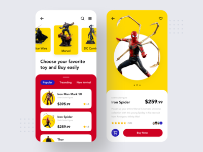 Action Figure Store App