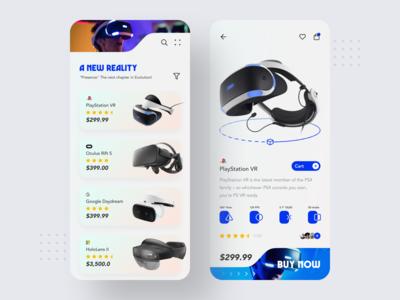 VR Headset Store App