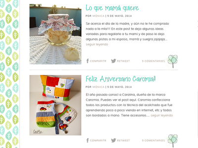 Posts listing blog post wordpress design web design fun peru