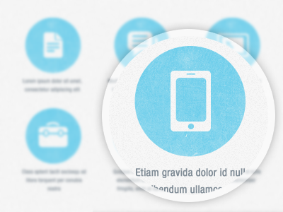 Zoom icons circles circle list iphone lima peru