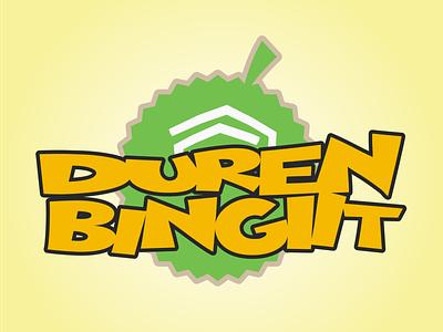Brand Duren Bingiit design branding vector logo illustration