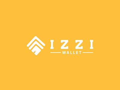 New Logo Izzibank 2.2 web app vector illustration design branding logo