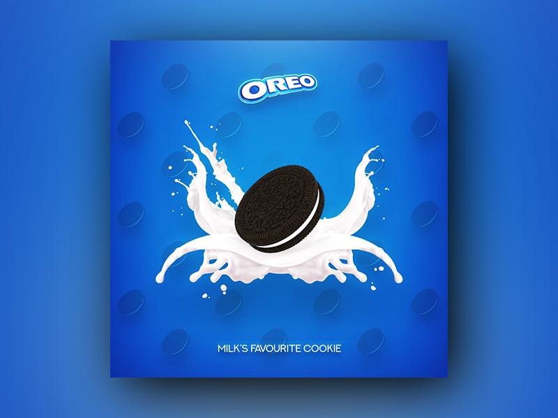 Oreo Fan Advertisement cookie oreo poster advertisement