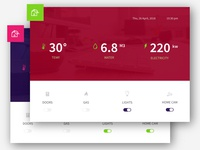 Home Monitoring System UI