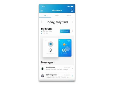 Meet Isla. An Intuitive Scheduling & Logistics App
