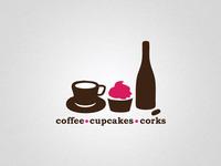 Coffee Cupcakes Corks