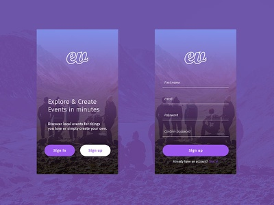 App sign up exploration concept. appdesign uxigers uidesign uxdesign userinterface userexperience ux ui design