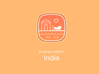 Crafted in India