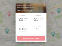 Zo Rooms - Book Now Widget