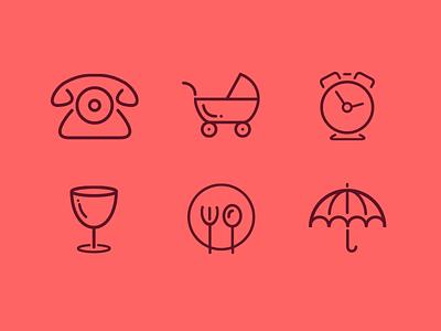 Line Icons baheti gaurav symbol stroke tool pen creative line iconography icon