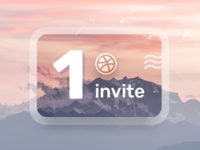 Dribbble Invite designer modern sketch ui visual design splash baheti gaurav new invite dribbble