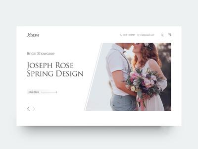 UI Design Idea (wedding)