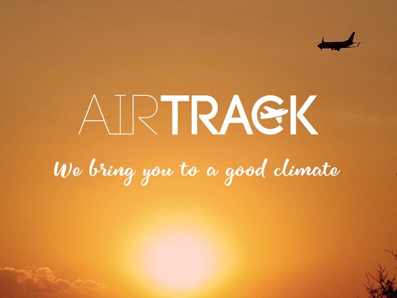 Airline logo brand airline logodesign airtrack logo dailylogochallenge