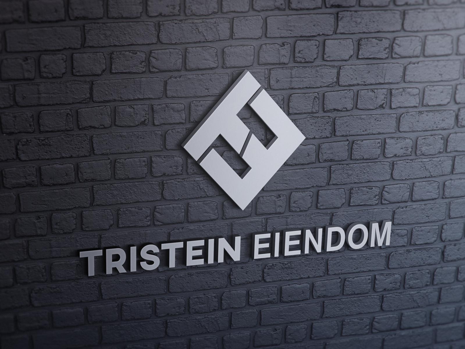 Tristein Eiendom logo logo design 9co identity brand logodesign