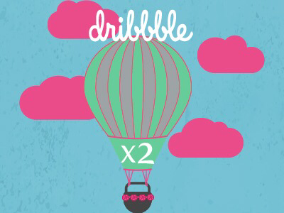 2x dribbble invites graphic design dribbble new players invitation invite