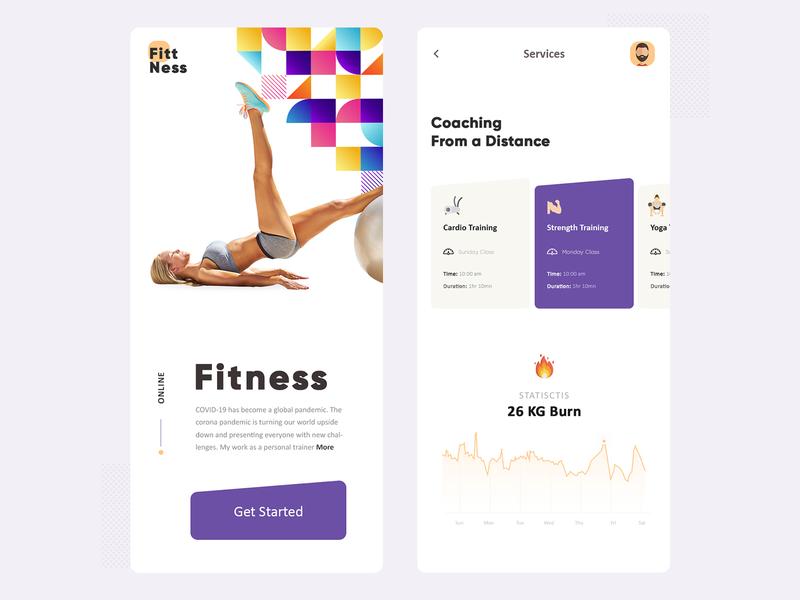 Online Fitness App