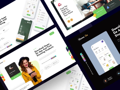 Header for promotional pages for different Apps promotional design app landing page app promotion sliders headers landing page design ui modern creative interface master creationz