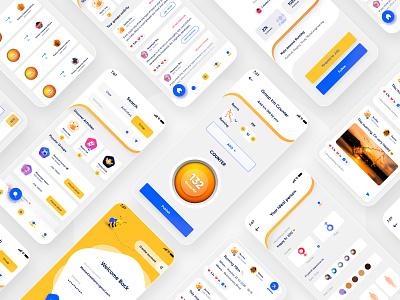 Mobile App Design: Version 2nd 2020 design 2020 trends 2020 apey creative design app design product branding branding design ios app design mobile ui mobile app design uxdesign productdesign