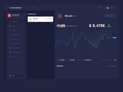 Bitcoin trading platform webdesign ripple bitcoin block chain aftereffects creative modern design master creationz