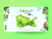 Pollution Free Environment: Landing page