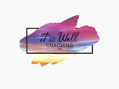 It is Well branding logo logo design