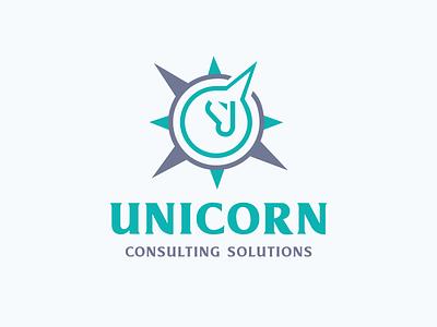 Unicorn Consulting Solutions branding logo design logo