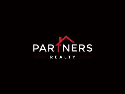 Partners Realty real estate logo design