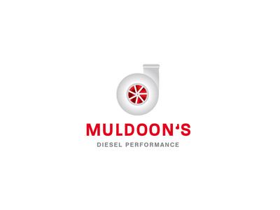 Muldoon's Diesel Performance design logo