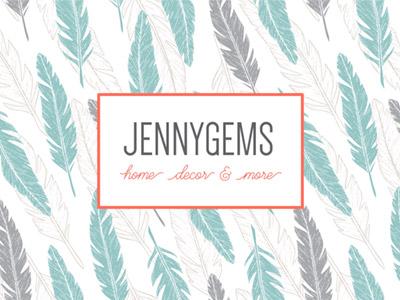 JennyGems Google Plus Background branding media social