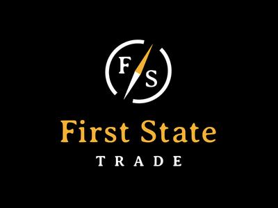 First State Trade Logo design logo