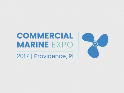 Commercial Marine Expo tradeshow expo logo