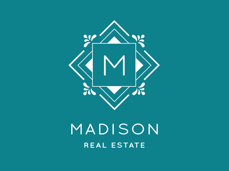 Madison Real Estate Logo real estate logo design