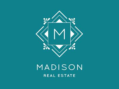 Madison Real Estate Logo real estate logo design