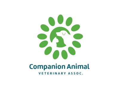 Companion Animals animals dog cat veterinarian logo design