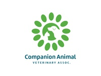Companion Animals animals dog cat veterinarian logo design