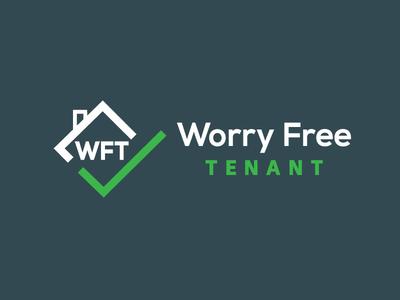 Worry Free Tentant Logo2 design logo
