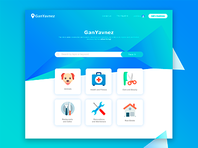 GanYavnez semiflat blue website