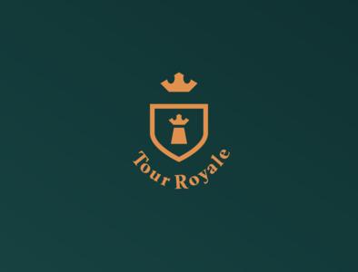 Tour Royale Logo logos logotype logo design branding logodesign logo flatdesign graphicdesign flat design graphic design vector design