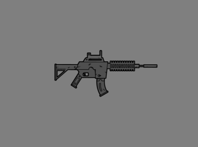 Flat Rifle Illustration 1
