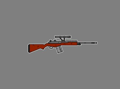 Flat Rifle Illustration 2