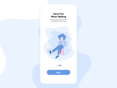 Waiting Apps Onboarding Screen