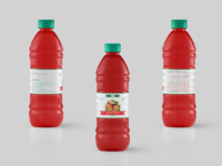 Momcee Red Palm Oil Branding