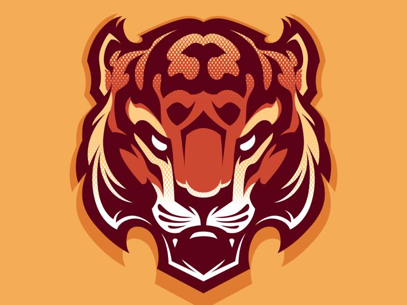 Tiger logo tattoo tribal tiger vector vector logo logo tiger logo tiger
