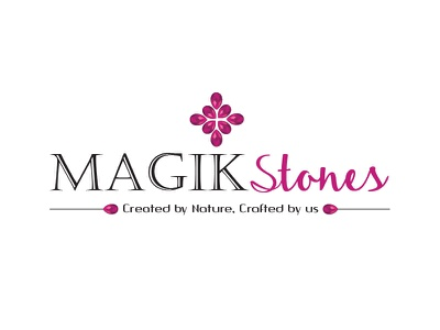 Logo Created for Magik Stones