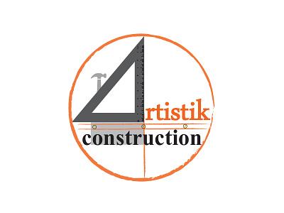 Artistik Construction company Logo
