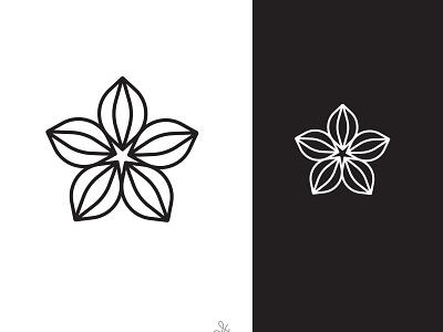 Logo design company logo business abstract vintage retro simple logotype logo art logo design star japan branding flat fashion vector minimalist flower fresh design sakura