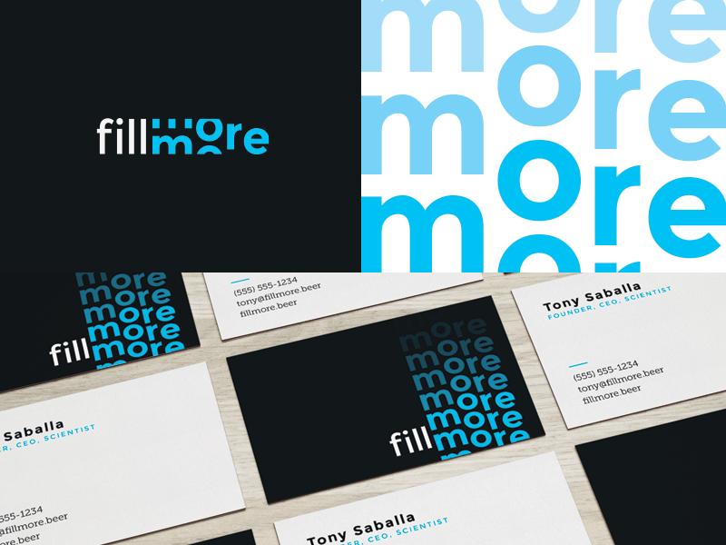 Fillmore Brand Exploration logo branding