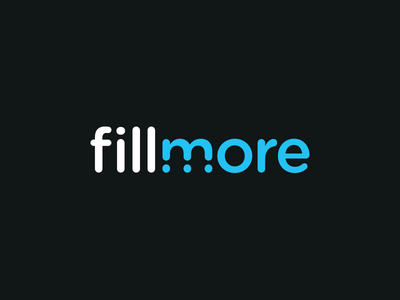 Fillmore - Variation wordmark logo