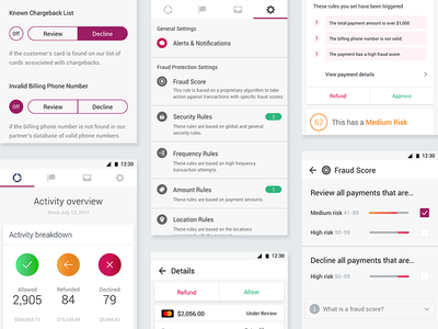 Fraud Protection App Styles